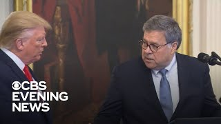 Barr reportedly considered resigning over Trump's tweets