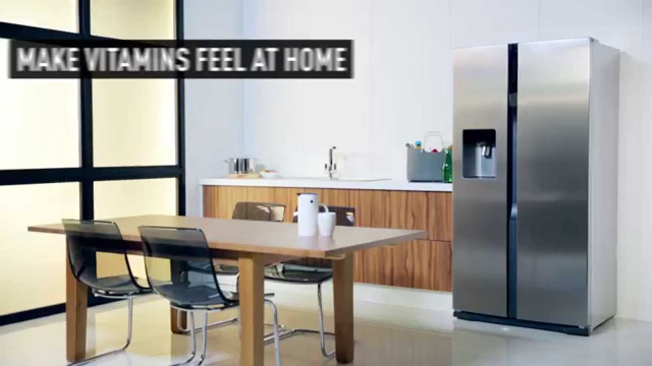 panasonic nr b53v2 side by side fridge freezer youtube. Black Bedroom Furniture Sets. Home Design Ideas