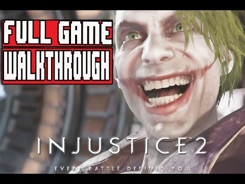 INJUSTICE 2 Gameplay Walkthrough Part 1 FULL GAME (PS4 Pro) - No Commentary