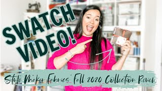 Style Maker Fabrics Fall 2020 Fabric Collection Swatch Review
