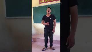 Học sinh 12 cover nhạc chế cực ngầu trước khi ra trường :))