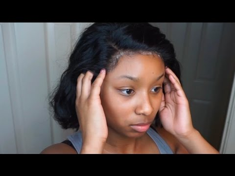 Ghost Bond Application With A Lace Frontal Youtube