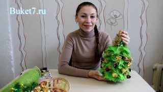 видео Новогодняя ёлка своими руками пошагово с фото