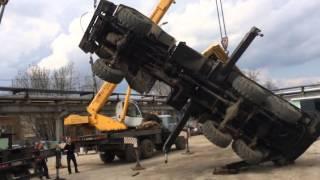 Аренда автокрана 25 тонн в Уфе цена 1600(, 2016-01-09T08:37:32.000Z)