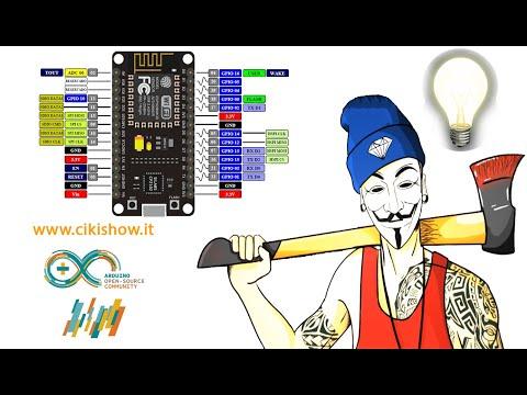 Programmare NodeMCU ESP8266 con Arduino IDE