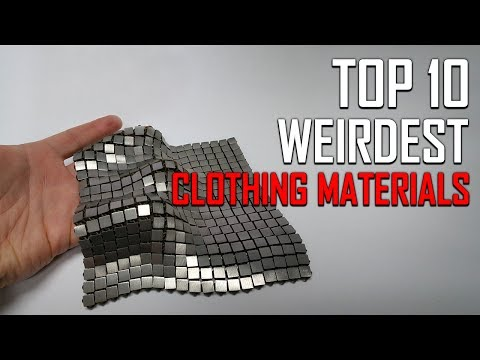 Top 10 Weirdest Material Used For Clothing