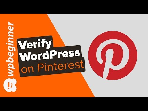 How to Easily Verify Your WordPress Site on Pinterest