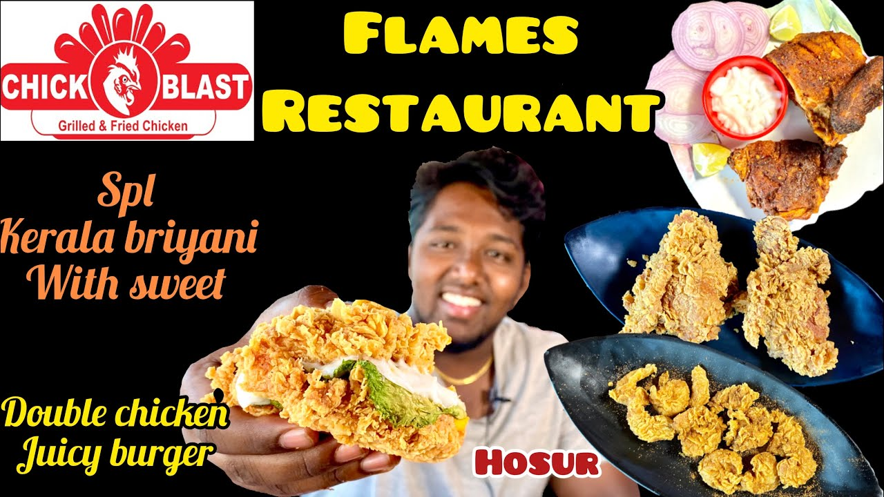 Chick Blast Flames Cakes And Bakes Restaurant Best Double Chicken Burger Without Bun Youtube