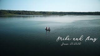 Fishing Save The Date: Mike & Amy