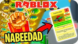 🎁 THE NABEEDAD HAS arrived! NEW UPDATE IN ROBLOX BEE SWARM 🎁