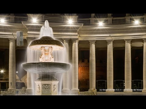 OSRAM's new lighting of St. Peter's Square in Rome