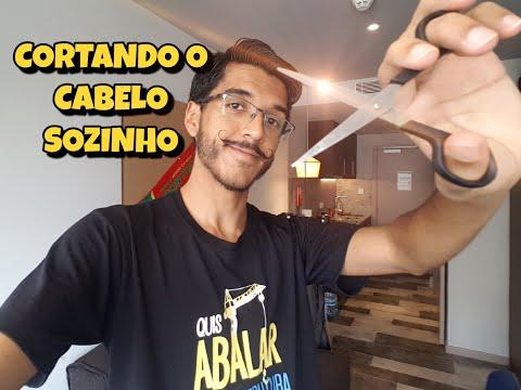 COMO CORTAR O CABELO SOZINHO SÓ COM UMA TESOURA - QUARENTENA