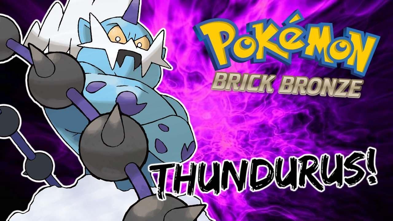 how to find thundurus in pokemon brick bronze
