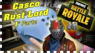 Fortnite: Casco di Rust Lord 1° Parte