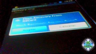 como instalar clockwork mod recovery en bmobile ax515