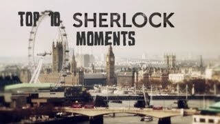 Repeat youtube video Top 10 Sherlock Moments (MAJOR SPOILERS)