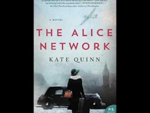 """""""Book Talk"""" interview Kate Quinn author """"The Alice Network"""" Mp3"""