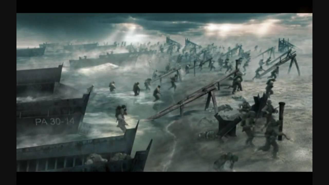 Company Of Heroes 2 Wallpaper Hd Company Of Heroes D Day Scene Youtube