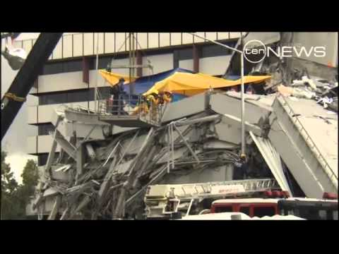 News Headlines - Search for survivors continues in NZ quake tragedy