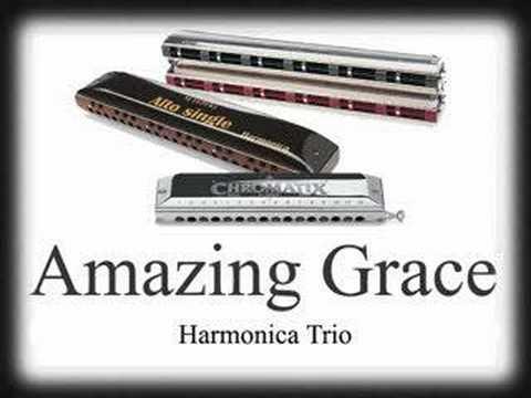 Harmonica Amazing grace tab - YouTube