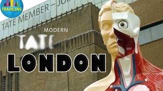 London Attractions: Tate Modern Art Gallery, England/UK Tourist Attractions