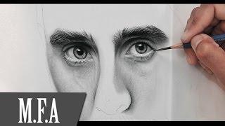"""COMO FAZER UM DESENHO HIPER REALISTA - M.F.A DESENHOS REALISTAS -Curso / DVD Vol.1 """"olhar e olhares"""""""