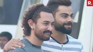Aamir Khan, Virat Kohli Shoot For Diwali Special Chat Show