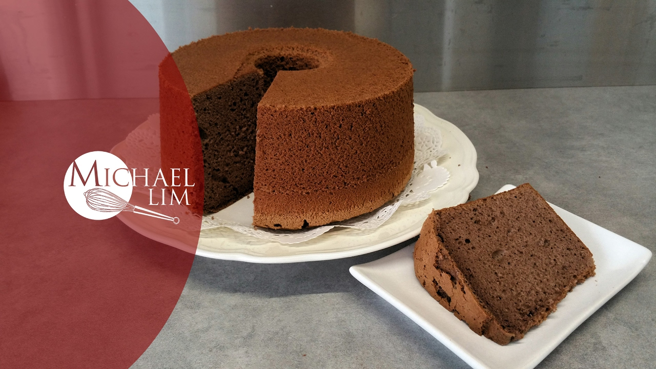 Ingredients Of Chocolate Chiffon Cake
