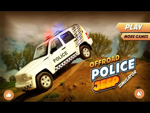 Offroad Police Jeep Simulator Android Gameplay Youtube