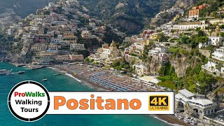 Positano, Italy Walking Tour in 4K