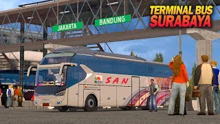 Review Terminal Purabaya ETS2 Mod Indonesia Map JOWO + Laksana XHD SR2