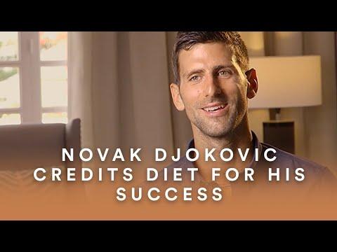 Novak Djokovic Credits Diet for His Success