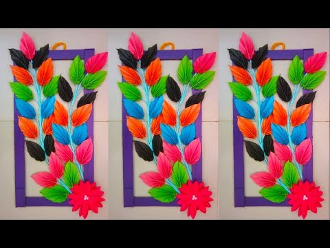 How To Paper Wallmate Make Easily | Wall hanger Diy | Origami Craft Ideas
