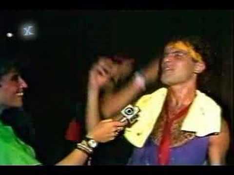 Cazuza MUITO DOIDO - Entrevista a Leila Cordeiro - Rock in Rio, janeiro de 1985