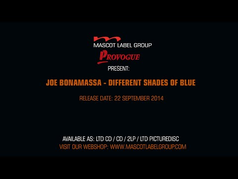 Joe Bonamassa - Different Shades Of Blue - Official Trailer