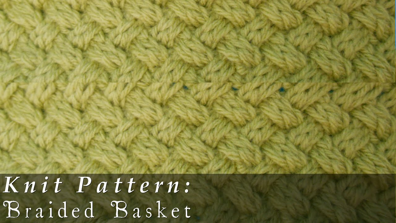 Braided All Over Cable { Knit } - YouTube
