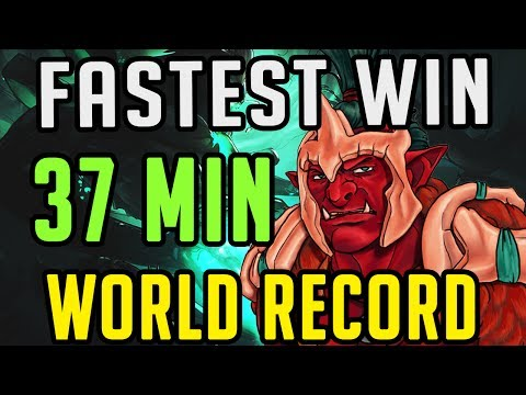 DOTA 2: SILTBREAKER WORLD RECORD 37 MINUTES WIN FINAL BOSS GAMEPLAY