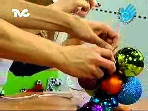 C mo hacer un racimo de uvas ec youtube - Como hacer bolas para decorar ...