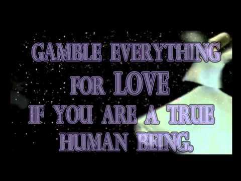 Rumi ♡ - Be Foolishly In Love