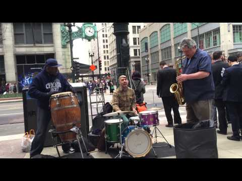 Jazz Buskers @ State Street (Chicago)