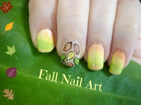 Easy & Cute Fall Nail Art For Short Nails!