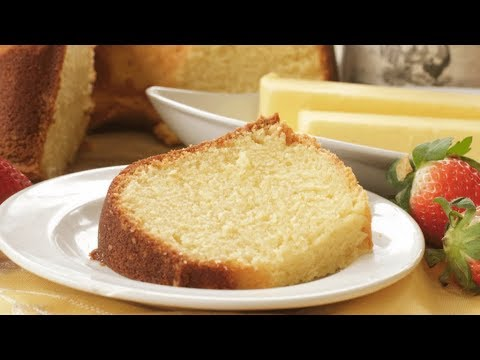 Southern Butter Pound Cake + How to Freeze Pound Cake