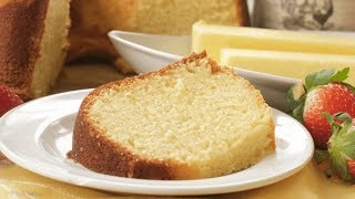 Southern Butter Pound Cake + How to Freeze Pound Cake thumbnail