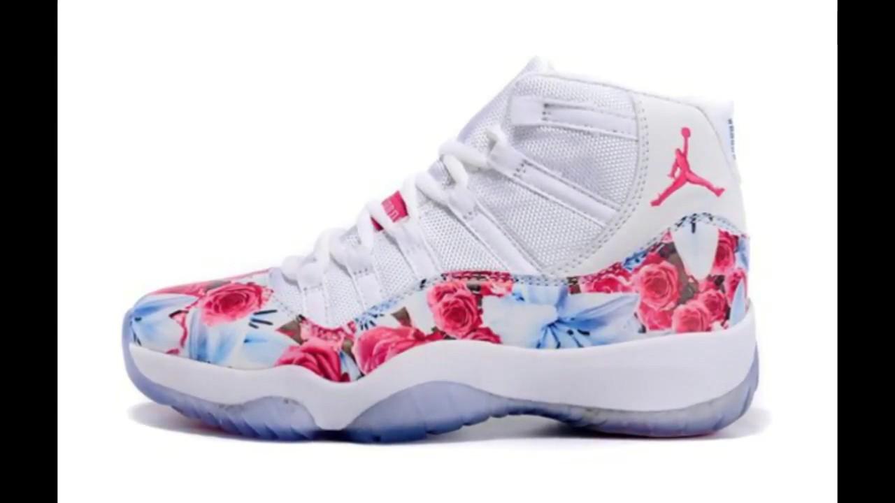 625fdb943ad Pink cute Jordans PLEASE WATCH Medium Copy - YouTube
