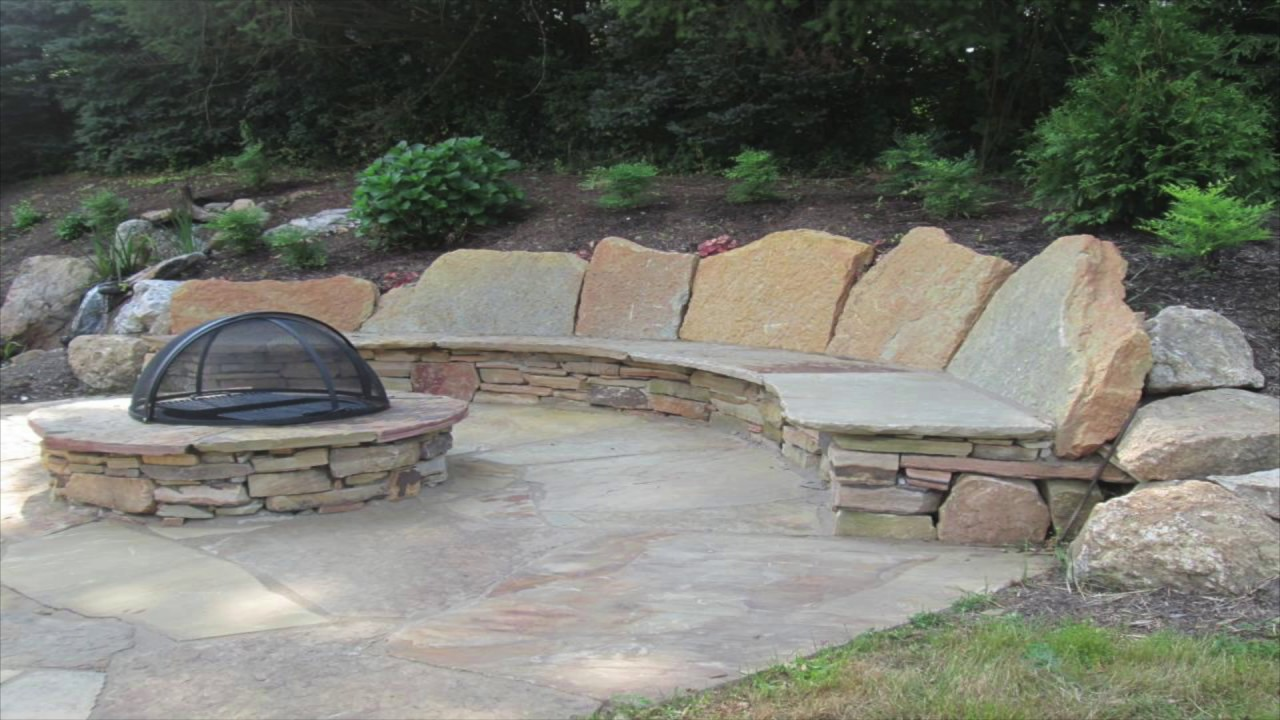 Flagstone Patio - Back Yard Design Inspiration Gallery ... on Flagstone Backyard Patio id=91170