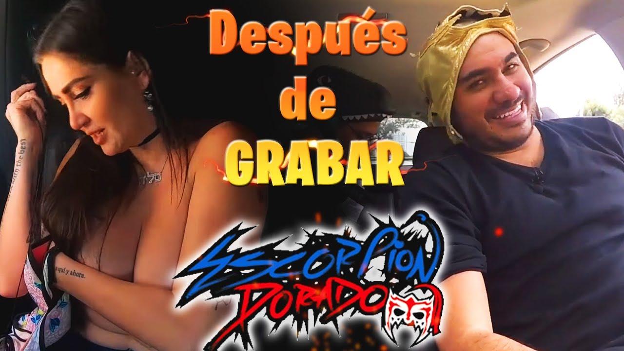 Download Lo que no viste del Escorpión Dorado al Volante! Después de grabar
