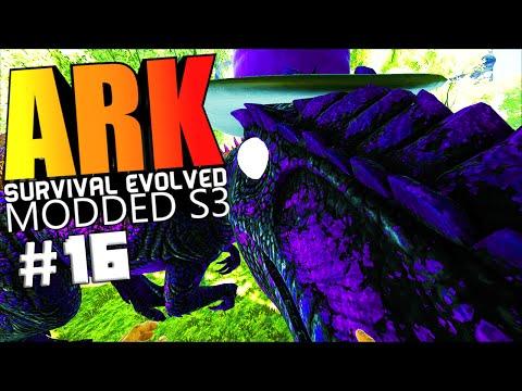ARK Survival Evolved - FAIL WARDEN BOSS, CHAMPION QUETZAL, .50 SNIPER Modded #16 (ARK Mods Gameplay)