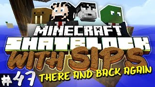 Minecraft Skyblock with Yogscast Sips #47 - There and Back Again