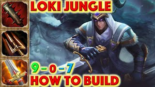 SMITE HOW TO BUILD LOKI - Loki Jungle Build + How To + Guide (Season 7 Conquest) Stealthed Slayer