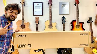 Roland BK-3 Live unboxing and indian overview | V ROCK AND POP | 28000 ONLY